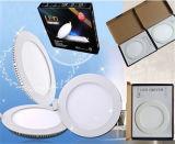 円形LEDの照明灯9W、細いLED軽い9W