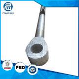 Forgeage d'usinage CNC Chromed longue tige de piston hydraulique solide