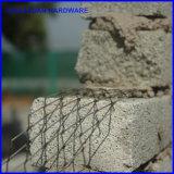구멍 크기 10X25mm를 가진 직류 전기를 통한 벽돌 증강 코일 메시/Truss 욋가지