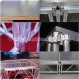Складывая алюминиевый портативный этап для системы этапа
