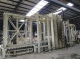 Linea di produzione di legno della pavimentazione del MDF per uso della società di costruzioni dal legno usato