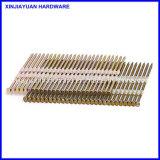 21 grau de cabeça plana faixa revestida de plástico com pregos 25HP /Strip