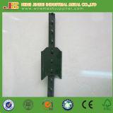 Postes en métal de frontière de sécurité de ferme, poste de frontière de sécurité de barre en métal T