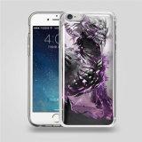 다채로운 심상 iPhone 5 6 반대로 중력 이동 전화 덮개 케이스를 위한 투명한 인쇄 반대로 중력 전화 상자