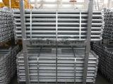 Types de Ringlock d'acier à outils de construction de bâtiments d'échafaudage à vendre