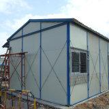 Полуфабрикат дом стальной структуры с панелью сандвича EPS