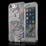 iPhone 7/7 аргументы за телефона бумаги TPU яркия блеска 3in1 добавочное