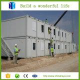 Modulare Flüchtlingslager-Häuser und Fertigbehälter-Haus-Lieferant