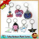 승진 주문 고무 PVC Keychains (TH-9104)