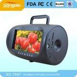 7,5-дюймовый портативный DVD плеер с Boombox (SD-7597)