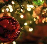 太陽LEDのクリスマスの照明および装飾の球または花または星およびそう