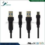 Type de transmission rapide d'USB 3.1 câble de caractéristiques de C avec du ce RoHS