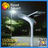 Geïntegreerdej Zonne LEIDENE Lamp voor Straat met de Batterij van het Lithium