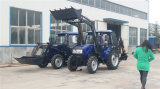 Tractor poco costoso con la parte frontale Loader Backhoe Loader