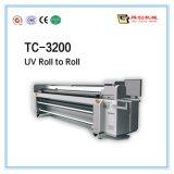 Roulis de grand format pour rouler l'imprimante UV