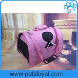Fabricante de plástico de la moda de tamaño 3 perro gato portador de viajes