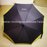 Hôtel Westin de fibre de verre automatique de la qualité des parapluies de promotion avec le bord de l'impression (SU-0023EAF)