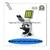 タブレットのデジタル研究の生物顕微鏡