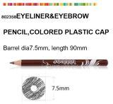 착색된 플라스틱 모자를 가진 Eyeliner를 위한 작은 장식용 연필