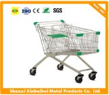 Handcart do supermercado do carro do trole da compra 240L