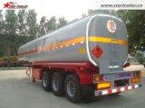 De 3 essieux de camion-citerne remorque semi pour le transport de carburant /huile