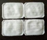 Baumwollquadratische kosmetische Auflage 100% für Haut-Sorgfalt