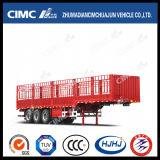 Cimc Huajun Top Quality Stake/Cargo Trailer mit Gooseneck