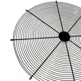 Protezione d'acciaio del coperchio di collegare del ventilatore per il ventilatore di 120mm