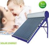 calefator de água solar da baixa pressão 200liter com o tanque de água solar