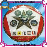 Moneta di sfida del metallo per il regalo militare della moneta (M-CC14)