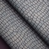 A pele de serpente de superfície de Matt gosta do couro de sapata artificial do plutônio