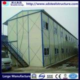 Fábrica prefabricada de acero ligera del chalet de la casa