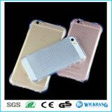 TPU a prueba de choques suavemente borran detrás la piel del caso para el iPhone 7 de Apple