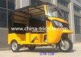 4-6 사람들 전송자 세발자전거 또는 3개의 바퀴 기관자전차 (DTR-11B)