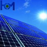 L'AR enduisant la glace Tempered ultra claire inférieure de panneau solaire en verre de fer