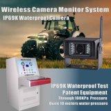 Système de caméra d'observation sans fil pour moissonneuse-batteuse Sécurité de la sécurité agricole
