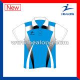 Healong подгоняло рубашку пола боулинга печатание сублимации Sportswear для сбывания