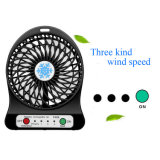 Mini ventilador recarregável portátil do USB/de ventilador/mesa de refrigeração ventilador