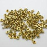 カスタム衣服のアクセサリ6の熊手のタイプ金属の黄銅アイレット