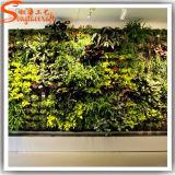 Muur van het Gras van de Leverancier van Guangzhou de Decoratieve Kunstmatige Groene
