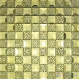Stroh Trapezia Spiegel-Glaskunst-Mosaik