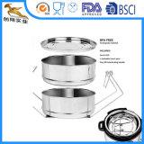 Inserts en acier inoxydable cuiseur vapeur pour Autocuiseurs (CX-SA01)