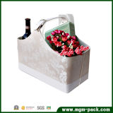 Hot Promotion Customs Leather Wicker Basket