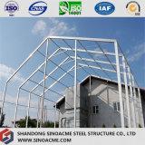 Construction à charpente d'acier légère pour l'entrepôt de Sinoacme