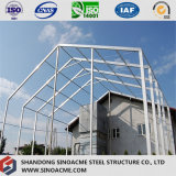Sinoacme fabrizierte helle Stahlrahmen-Zelle-Halle vor
