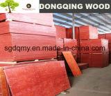 Precio de la madera contrachapada laminada con negro / Brown filmado
