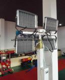Torre ligera móvil de la construcción del generador del diesel o de la gasolina