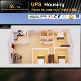 Moderner Entwurfs-einzelne Fußboden-Aufbau-vorfabrizierte Häuser Franny flach