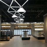 triangle du panneau DEL de 1200*1200*1200mm avec des supermarchés