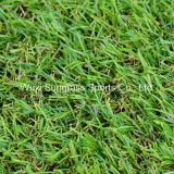 Le gazon artificiel, jardin d'herbe, gazon, fils de gazon synthétique (SUNQ--HY00127)